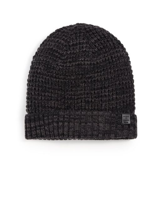 Bickley + Mitchell   Black Faux Sherpa-lined Thermal Cuff Beanie for Men   Lyst