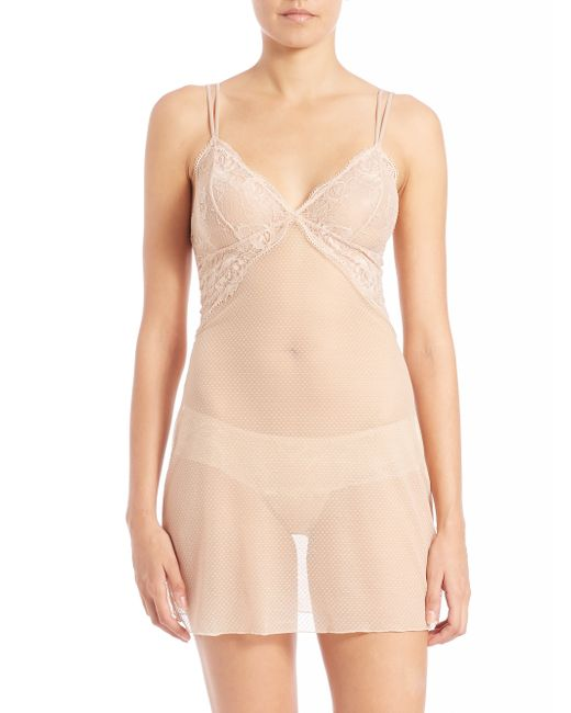 Wacoal | Natural So Sophisticated Chemise | Lyst