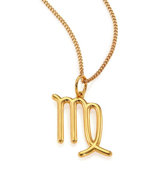 Chloé | Metallic Constellation Long Pendant Necklace | Lyst