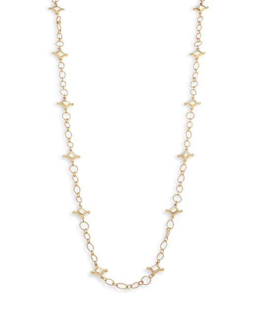 Stephanie Kantis | Metallic Venetian Two-tone Chain Station Necklace | Lyst