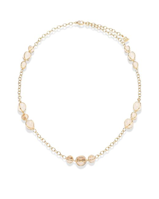 Temple St. Clair | Metallic Amulet Diamond, Rock Crystal & 18k Yellow Gold Station Necklace | Lyst
