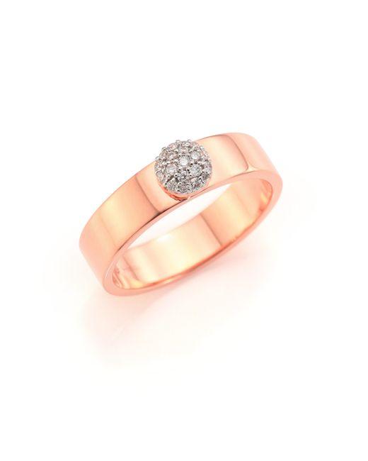Phillips House   Metallic Affair Diamond & 14k Rose Gold Ring   Lyst