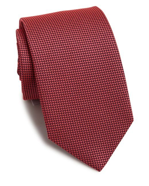 Eton of Sweden | Textured Silk Tie for Men | Lyst