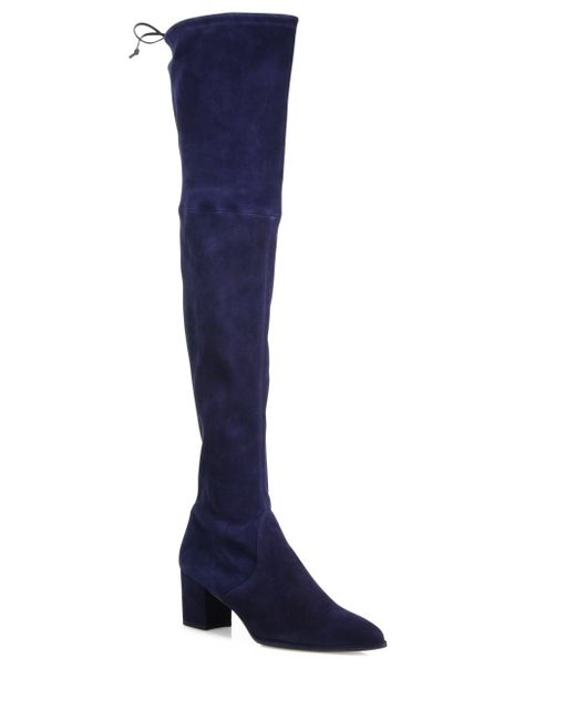 stuart weitzman thighland suede the knee boots in