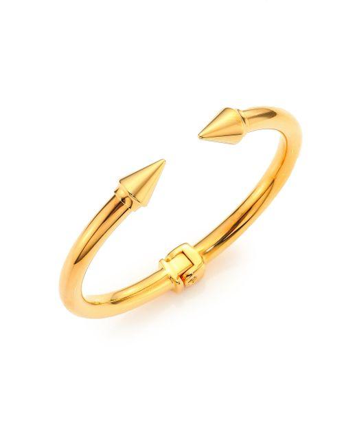 Vita Fede | Metallic Mini Titan Cuff Bracelet/goldtone | Lyst