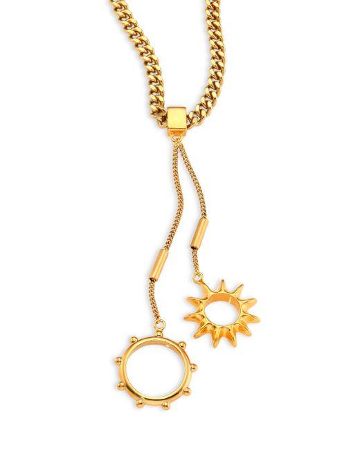 Chloé | Metallic Carly Lariat Necklace | Lyst