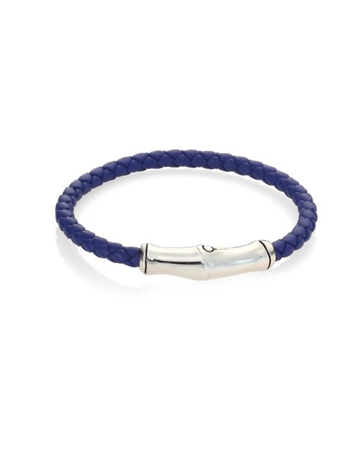 John Hardy | Multicolor Bamboo Collection Leather Bracelet for Men | Lyst