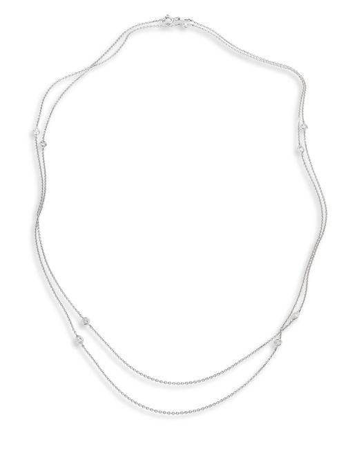 De Beers | Metallic Clea Sautoir Diamond & 18k White Gold Necklace | Lyst