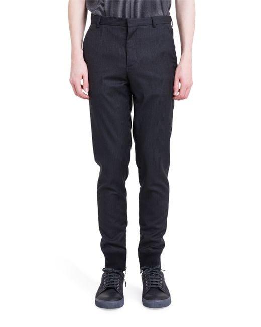 Lanvin   Black Casual Pants for Men   Lyst
