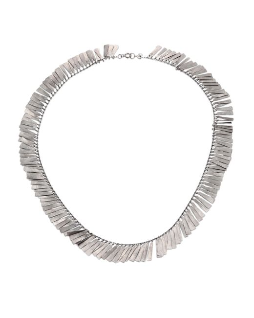 Sia Taylor | Metallic Raven Sterling Silver Necklace | Lyst