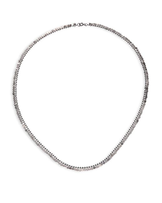 Sia Taylor | Metallic Full Dots Sterling Silver Necklace | Lyst