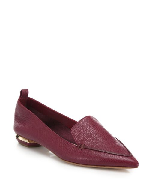 Nicholas Kirkwood | Purple Beya Leather Loafers | Lyst