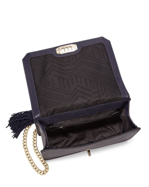 Rebecca Minkoff Love Quilted Leather Amp Suede Crossbody Bag