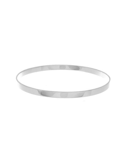 Lana Jewelry   Medium Vanity 14k White Gold Bangle Bracelet   Lyst