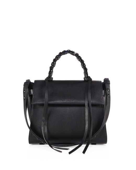 Elena Ghisellini | Black Angel Sensua Leather Satchel | Lyst