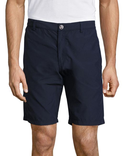 Vilebrequin | Blue Straight Fit Solid Bermuda Shorts for Men | Lyst
