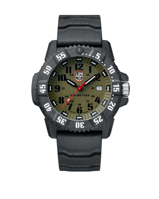 Luminox | Black Carbon Seal Compound Strap Watch for Men | Lyst