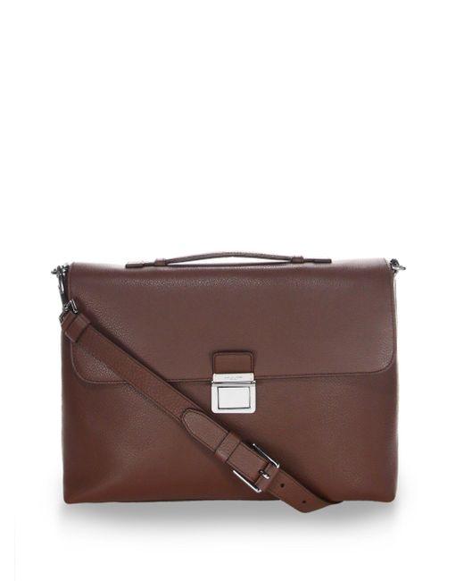 Michael Kors | Multicolor Leather Briefcase for Men | Lyst
