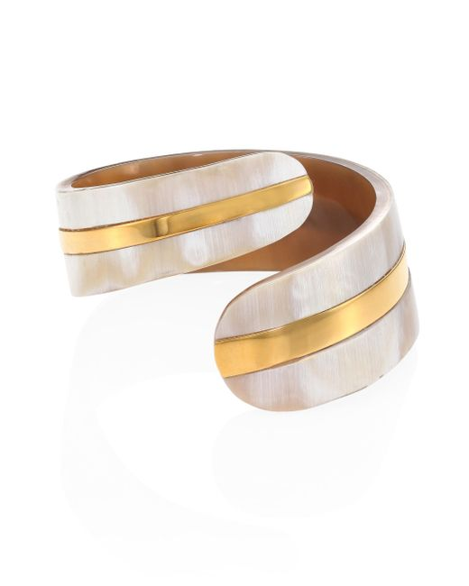 Nest | Multicolor Horn Cuff | Lyst