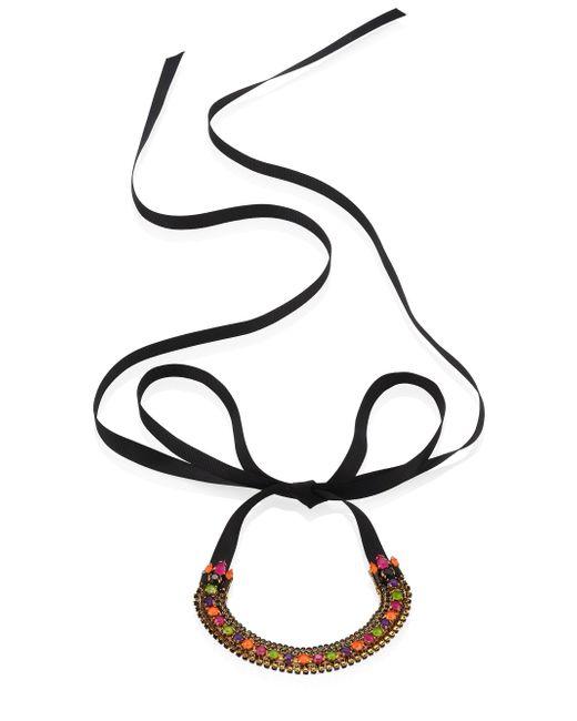 Erickson Beamon | Multicolor Technicolor Crystal Choker | Lyst