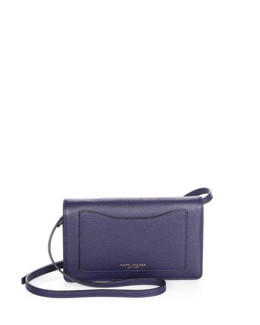 Marc Jacobs | Blue Recruit Leather Chain Wallet | Lyst