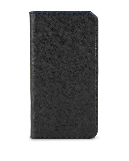 Uri Minkoff   Black Saffiano Leather Folio Iphone 7+ Case   Lyst