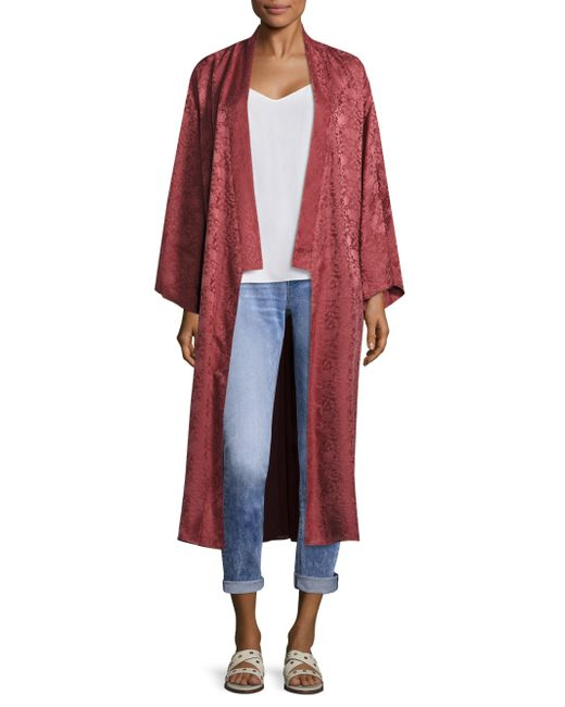 Elizabeth and James | Tracey Embroidered Kimono Jacket | Lyst