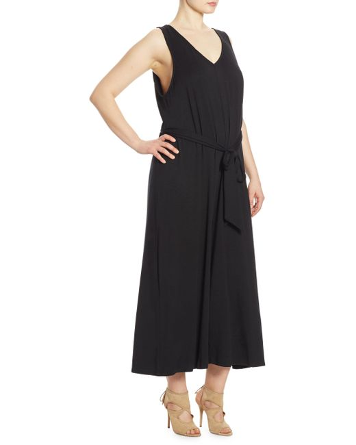 Rachel Pally | Black Jud Sleeveless Relaxed-fit Jumpsuit | Lyst
