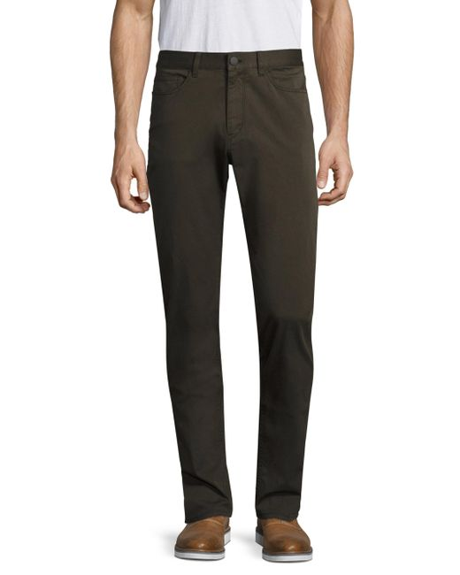 Theory | Multicolor Soft Sateen Casual Pants for Men | Lyst