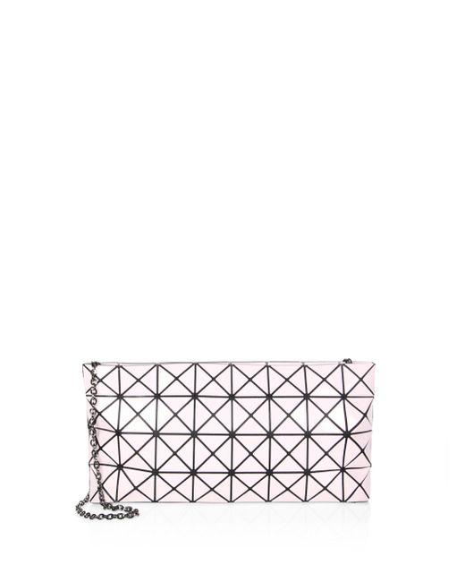 Bao Bao Issey Miyake | Pink Prism Gloss Chain Clutch | Lyst