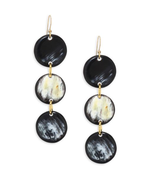 Nest | Multicolor Horn Drop Earrings | Lyst