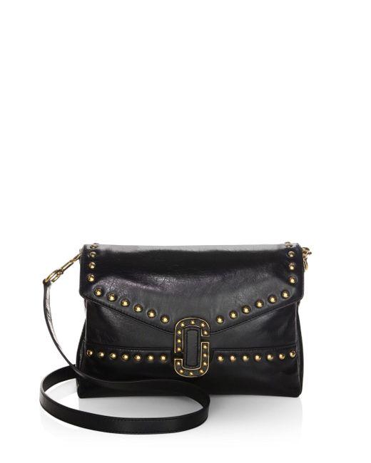 Marc Jacobs | Black Leather Shoulder Bag | Lyst