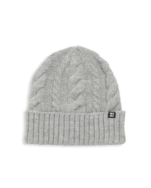 Block Headwear | Gray Cable Cuff Beanie for Men | Lyst