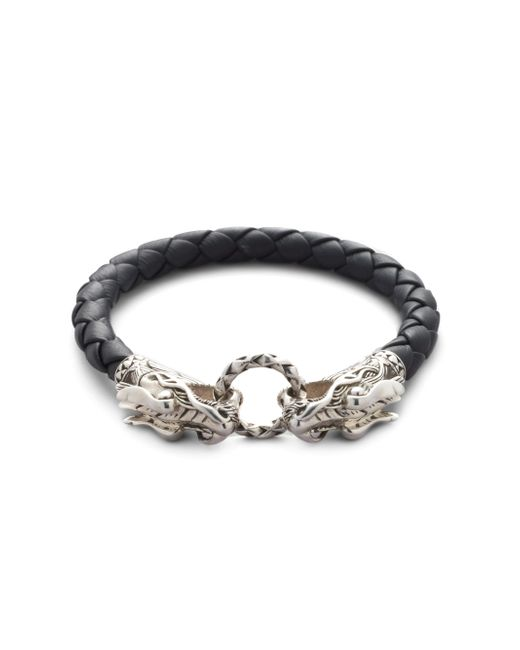 John Hardy | Black Naga Dragon Bracelet for Men | Lyst