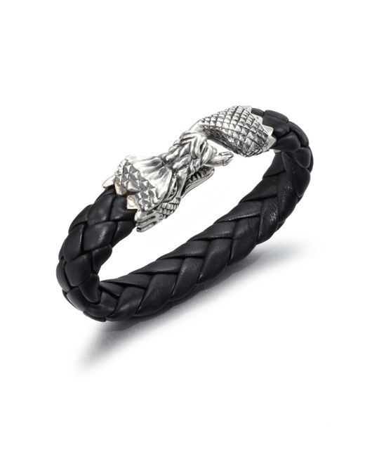 King Baby Studio | Black Leather Bracelet for Men | Lyst