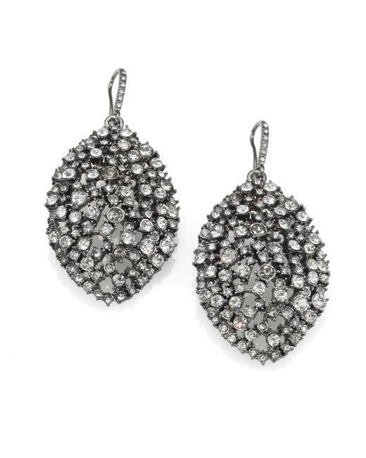 ABS By Allen Schwartz | Metallic Faceted Almond Drop Earrings | Lyst