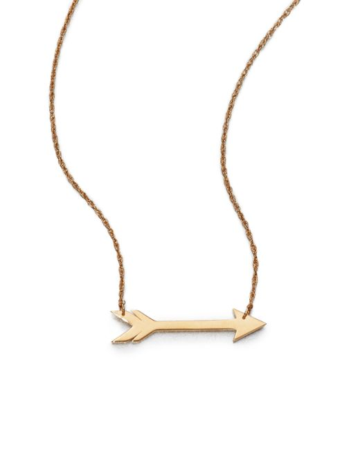 Jennifer Zeuner | Yellow Arrow Necklace | Lyst