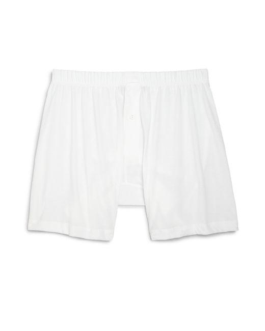 2xist | White Pima Cotton Boxers for Men | Lyst