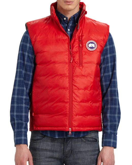Canada Goose | Red Lodge Vest for Men | Lyst