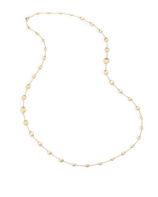 Marco Bicego   Metallic Siviglia 18k Yellow Gold Station Necklace   Lyst