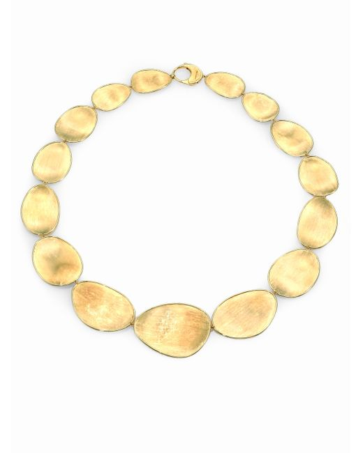 Marco Bicego | Metallic Lunaria 18k Yellow Gold Collar Necklace | Lyst