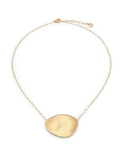 Marco Bicego | Metallic Lunaria 18k Yellow Gold Pendant Necklace | Lyst
