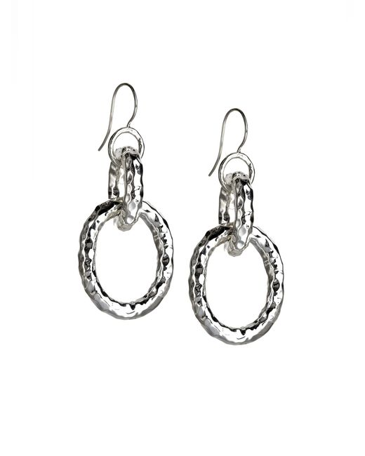 Ippolita | Metallic Glamazon Sterling Silver Bastille Link Drop Earrings | Lyst