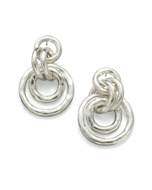Ippolita | Metallic Glamazon Sterling Silver Mini Jet Set Drop Earrings | Lyst
