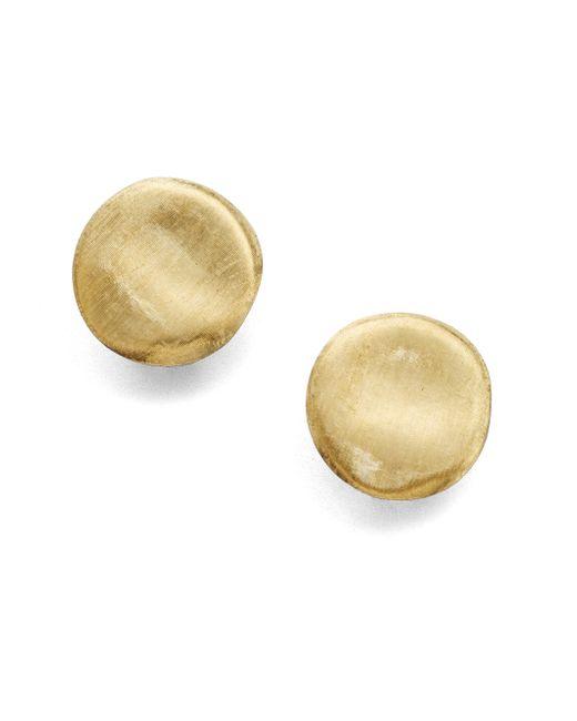 Marco Bicego | Metallic Jaipur 18k Yellow Gold Button Earrings | Lyst