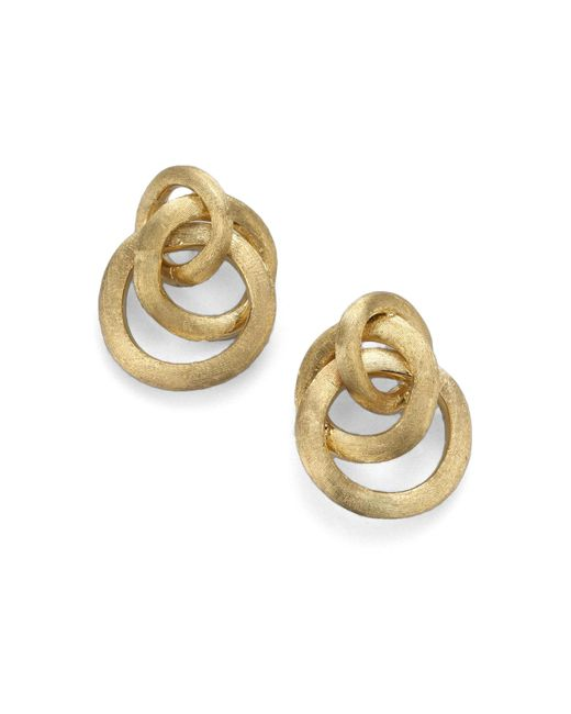 Marco Bicego | Metallic Jaipur Link 18k Yellow Gold Earrings | Lyst