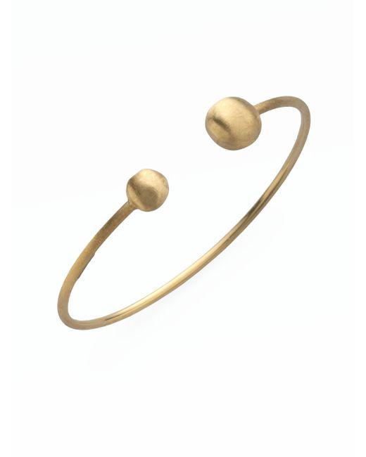 Marco Bicego | Metallic Africa 18k Yellow Gold Ball Cuff Bracelet | Lyst