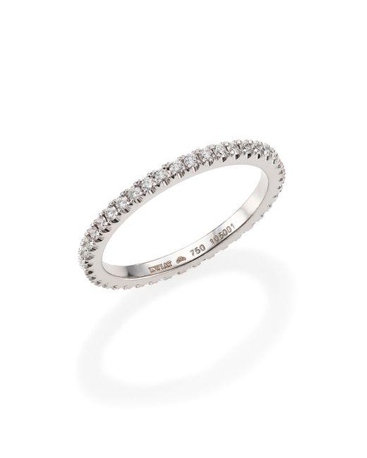 Kwiat | Diamond & 18k White Gold Eternity Stacking Ring | Lyst