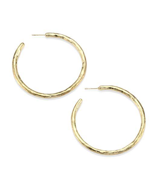 Ippolita | Metallic Glamazon 18k Yellow Gold #4 Hoop Earrings/2.15 | Lyst