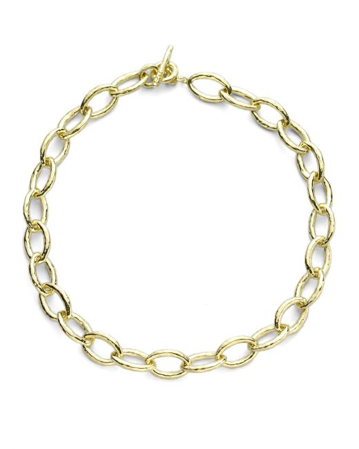 Ippolita | Metallic Glamazon 18k Yellow Gold Mini Bastille Link Chain Necklace | Lyst